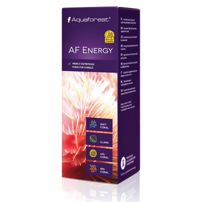 Aquaforest AF Energy Omega-3 Omega-6 vitamine e aminoacidi 10ml