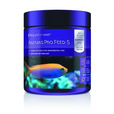 Aquaforest AF Anthias Pro Feed S 1mm 120gr - Granuli Affondanti per Pesci Marini Carnivori