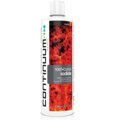 CONTINUUM AQUATICS REEF BASIS IODIDE 250 ML