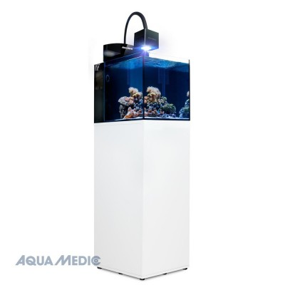 AQUAMEDIC BLENNY CUBE  Acquario con vetro WITHE  GLASS con supporto