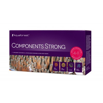 Aquaforest Component Strong 4x75ml