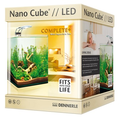 Dennerle Nano Cube Complete Plus Led 10Lt